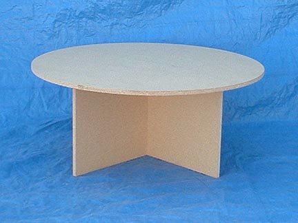 CHRISTMASTREETABLES.COM custom round wood tables for under a ...